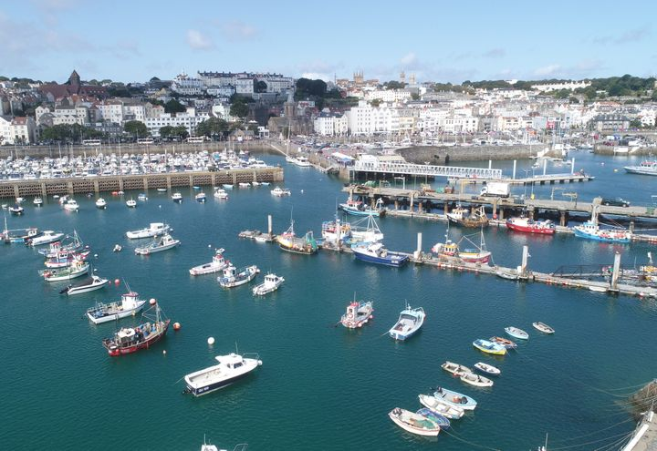 Jersey & Guernsey City by boat