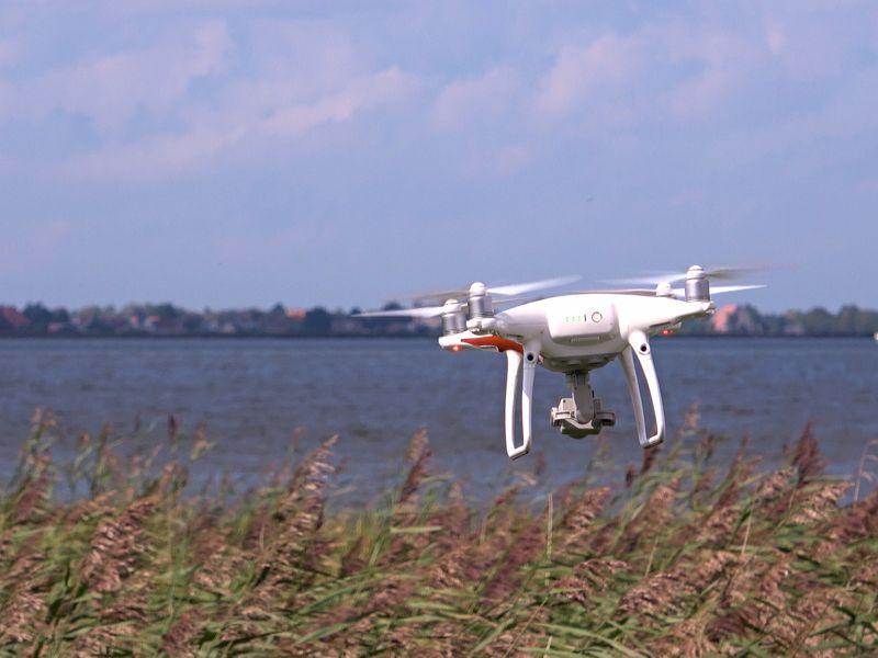 Drone piloot of videograaf