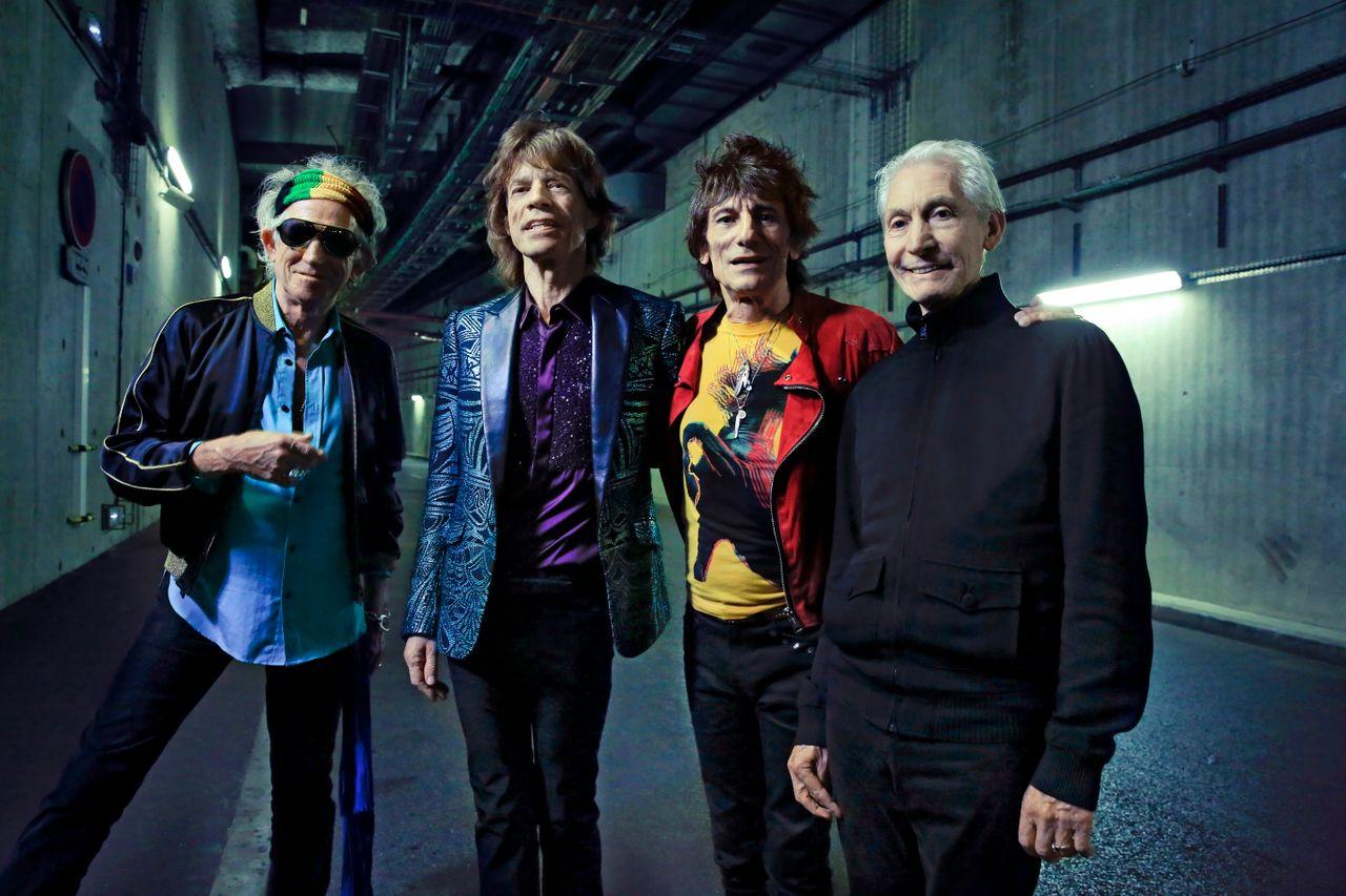The Rolling Stones - Unzippen in Groningen